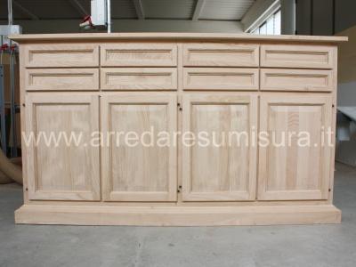 Mobile Credenza Rustica : Mobili arredamenti it rustici in legno massello: calore e