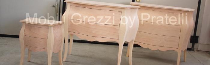 Mobili arredamenti it tutto sui mobili per l 39 arredamento for Comodini grezzi da decorare