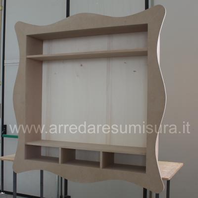 Mobili arredamenti it libreria sospesa con cornice - Cornici per mobili ...