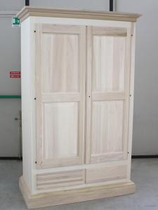Mobili arredamenti it armadi in legno grezzo per la for Armadio legno grezzo